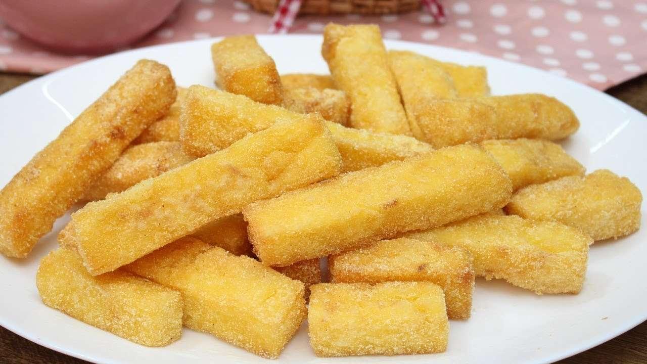 Polenta Frita crocante (Ótima opção de Petisco)