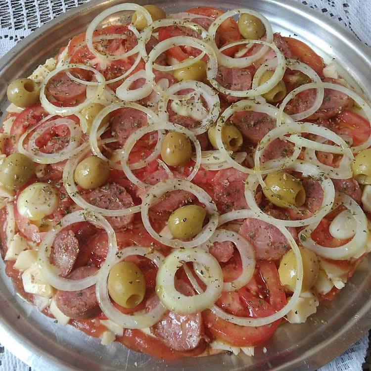 Pizza de Liquidificador simples: Receita maravilhosa!