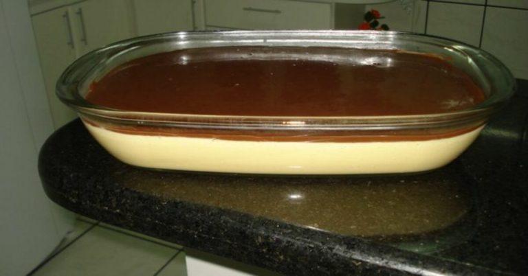 Mousse de Maracujá com cobertura de chocolate (Receita maravilhosa)
