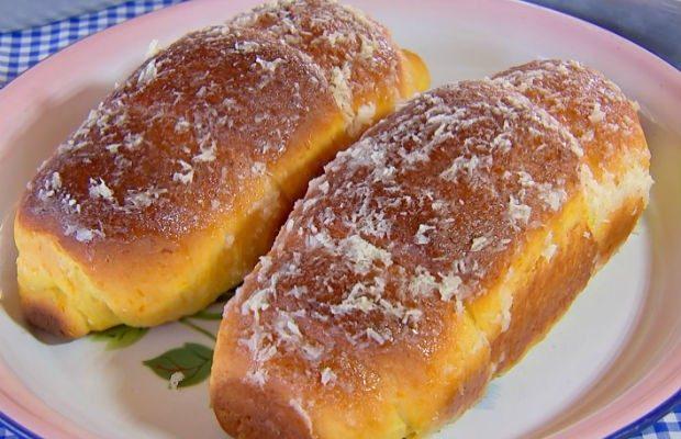 Pão de Abóbora com coco (Receita fácil e deliciosa)