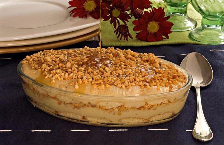 Pavê de Amendoim cremoso: Receita fácil e deliciosa!