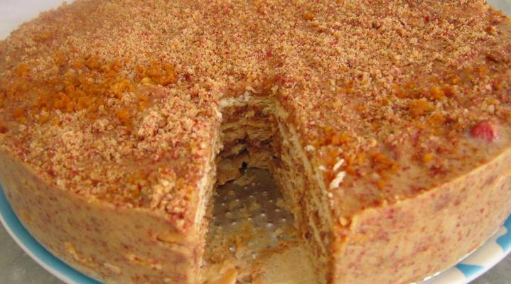 Pavê de Amendoim saboroso: Receita fácil de preparar!