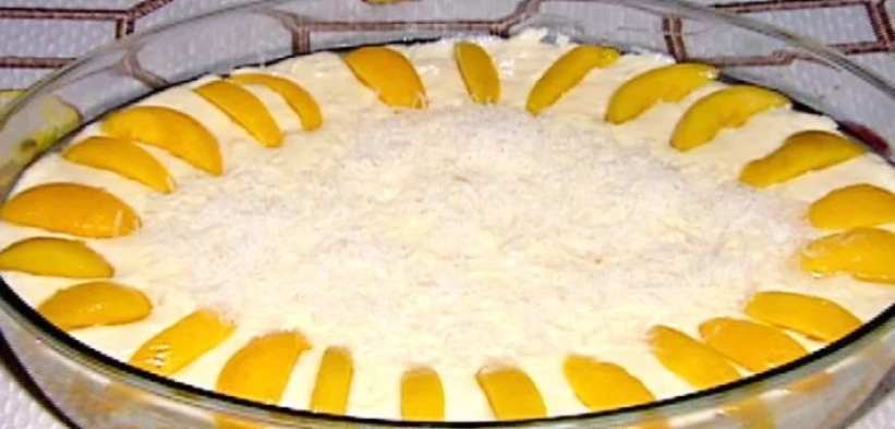 Creme gelado de pêssego: Sobremesa fácil e deliciosa!
