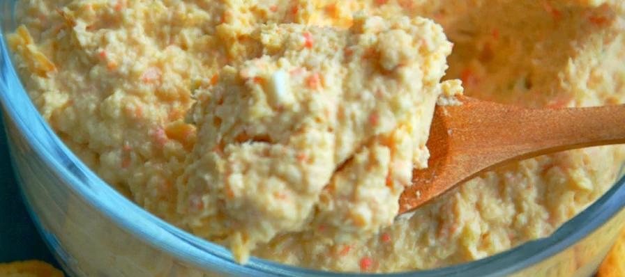 Patê de frango simples (Receita maravilhosa)