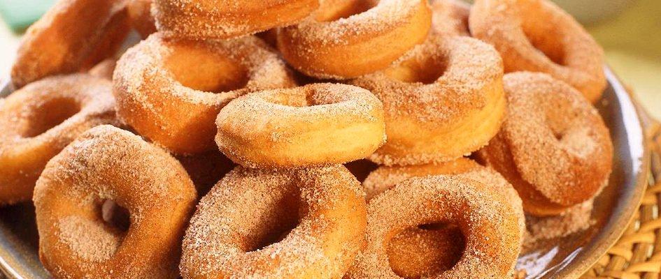 Rosquinha de Canela: Receita fácil de preparar e muito saborosa!