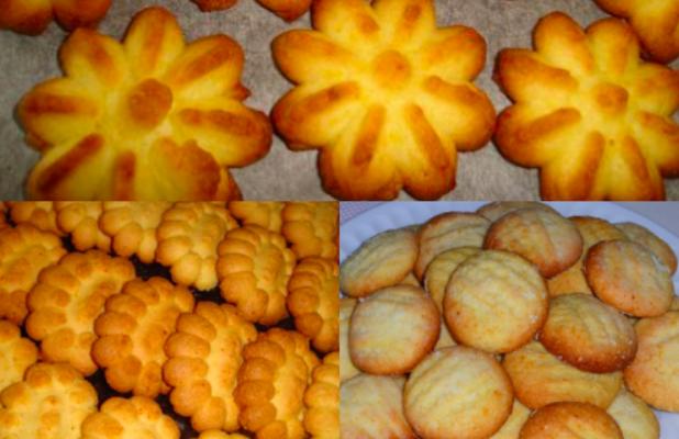Biscoitinhos Amanteigados rápidos e saborosos: Opção pra acompanhar o Café!
