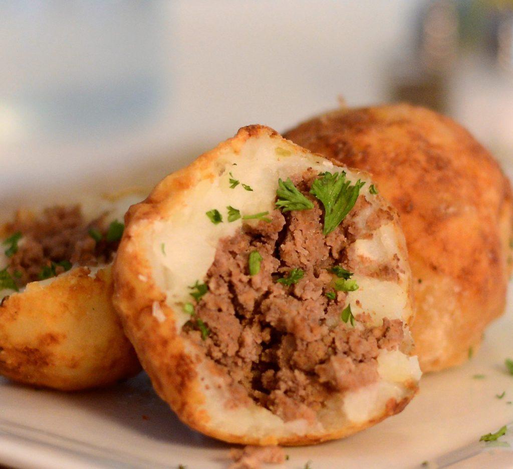Croquete de Batata com carne moída (Receita maravilhosa)