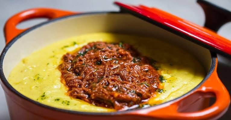 Polenta Cremosa: Sugestão maravilhosa pra sua refeição!