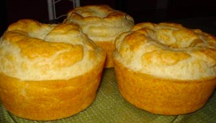 Bolo de Pão de Queijo prático (Receita maravilhosa)