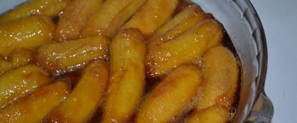 Bananas em Calda: Opção de sobremesa fácil e saborosa!