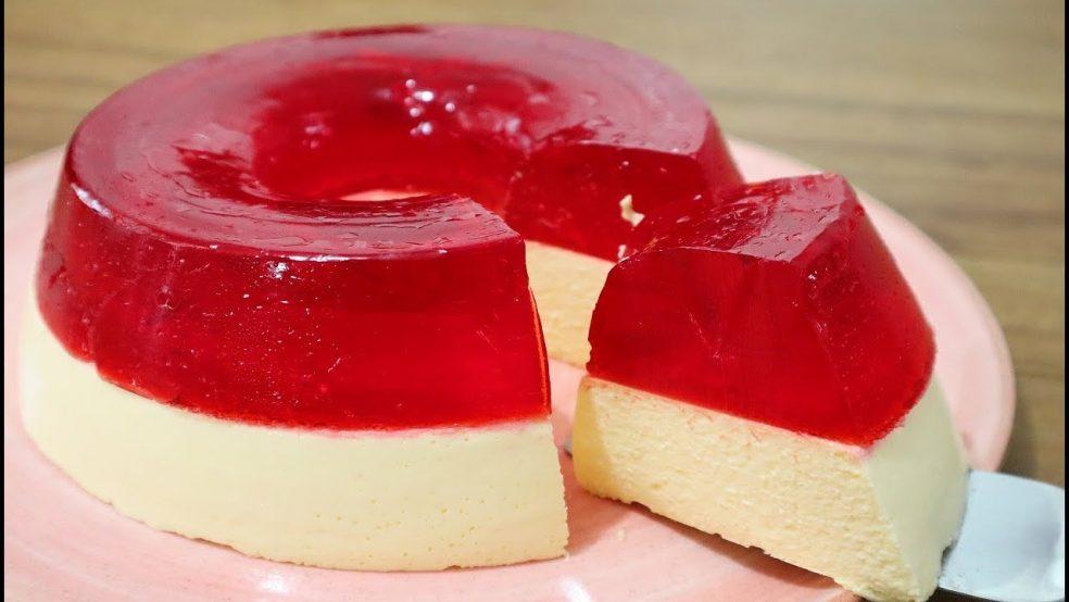Pudim-Creme de Groselha: Sobremesa fácil e deliciosa!