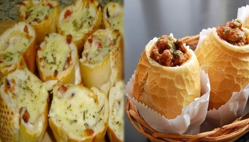 Buraco Quente: Sanduíche com Carne moída maravilhoso!