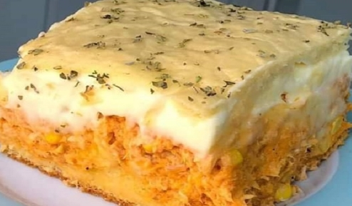 Torta de Frango de Liquidificador Simples: Sugestão deliciosa para o lanche da tarde!