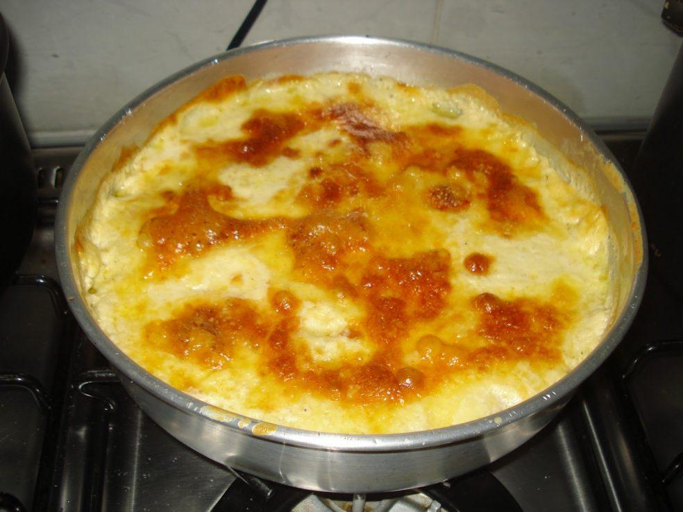 Batata ralada de Forno com Presunto e Queijo (Receita maravilhosa)