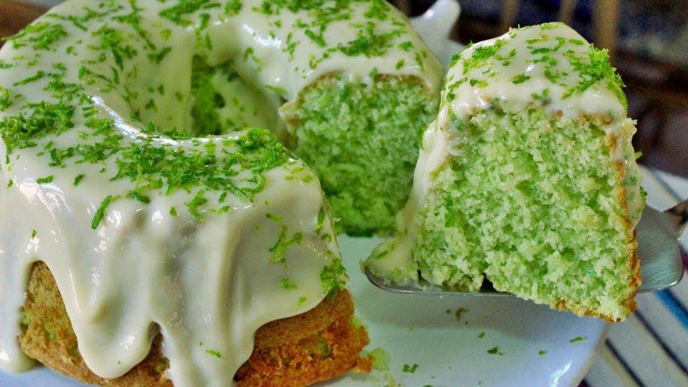 Bolo Verde de limão: Receita fácil e saborosa!