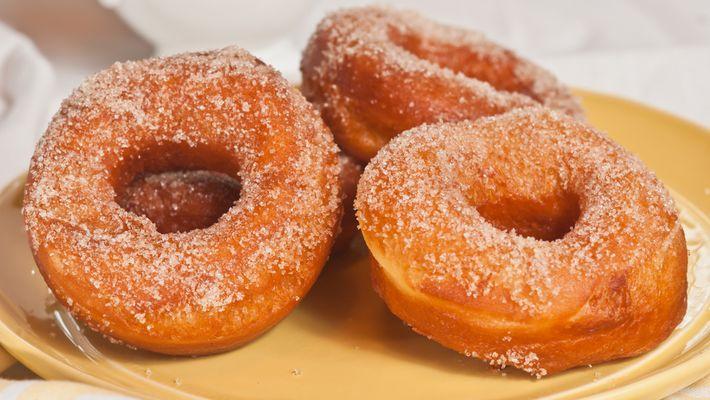 Donuts Assados simples