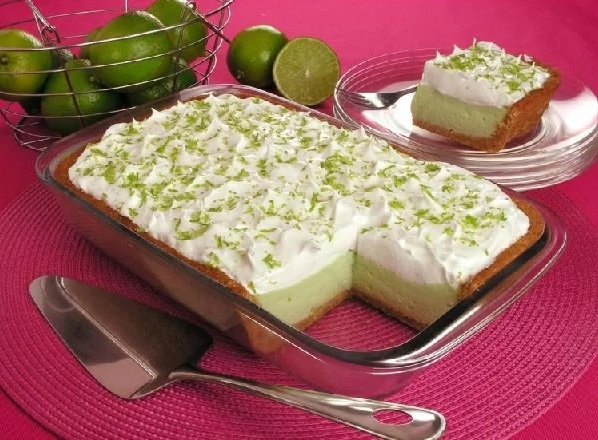 Torta de Limão na Travessa