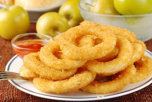 Anéis Temperados de Cebola: Receita de Onion Rings!