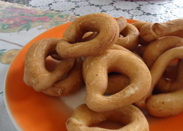 Biscoito de polvilho doce frito