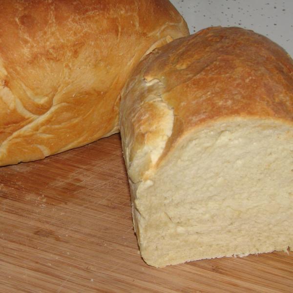 Pão batido na Batedeira