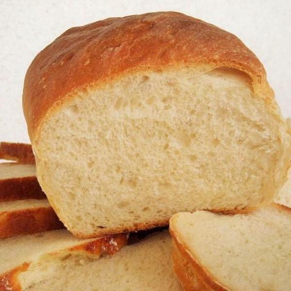 Pão caseiro de massa mole fofinho