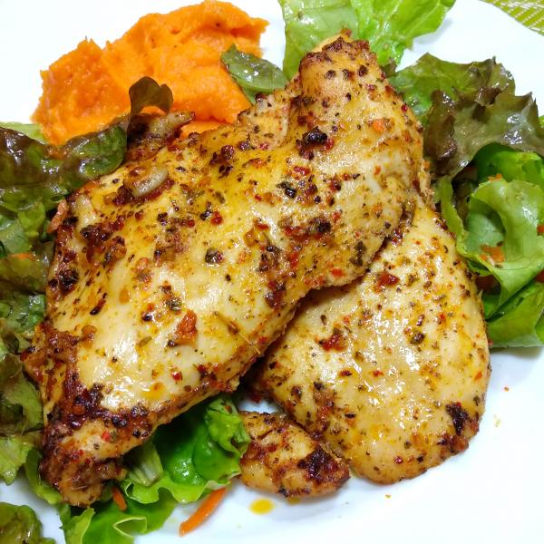 Frango com chimichurri: Receita fácil e deliciosa!