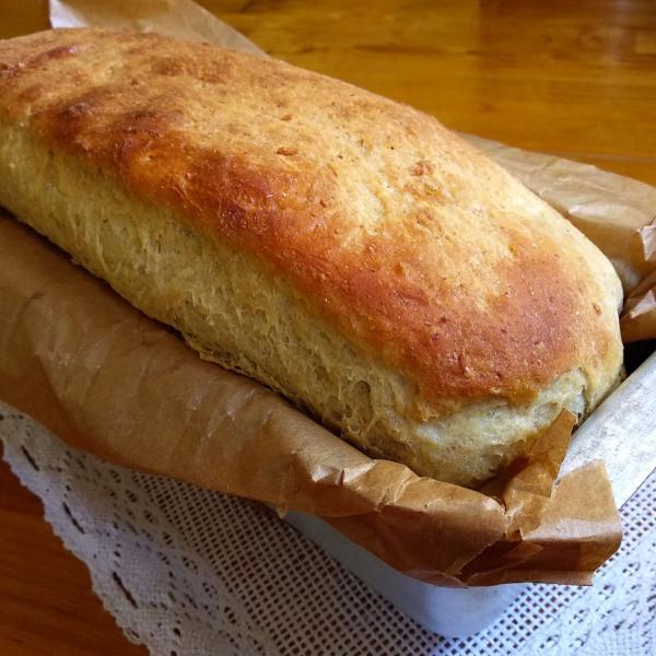Pão de batata de simples de liquidificador (Receita maravilhosa)