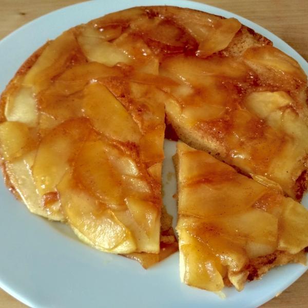Torta de maçã de frigideira