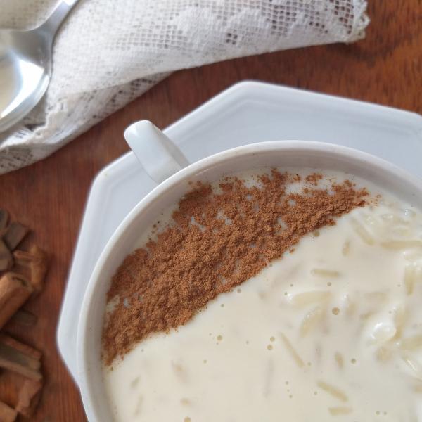 Arroz doce com creme de leite: Sobremesa maravilhosa!