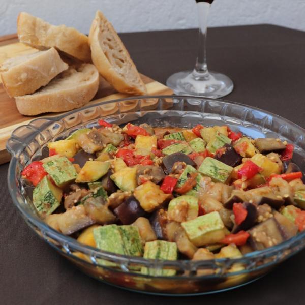 Caponata de berinjela e abobrinha: Receita simples e deliciosa!