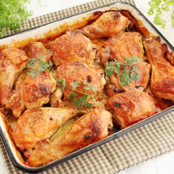 Coxa de frango assada no forno com maionese: Receita maravilhosa!