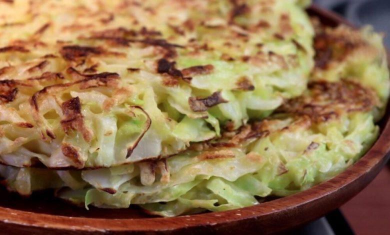 Omelete de repolho: Receita fácil e saudável!